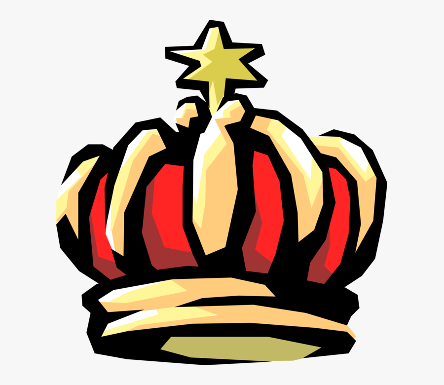 Vector Illustration Of Monarch Or Royalty King\