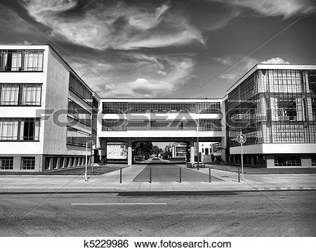 Stock Images of Bauhaus, Dessau k5229986.