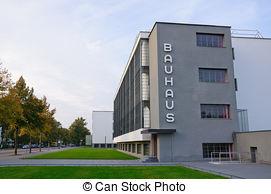 Stock Photos of Bauhaus, Dessau.