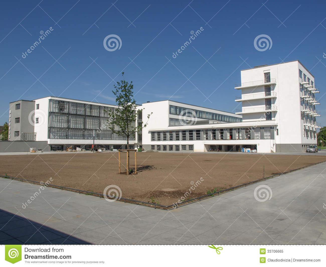 Bauhaus, Dessau Stock Images.