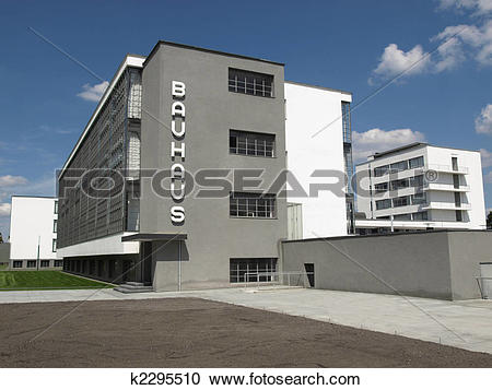 Stock Photography of Bauhaus, Dessau k2295510.