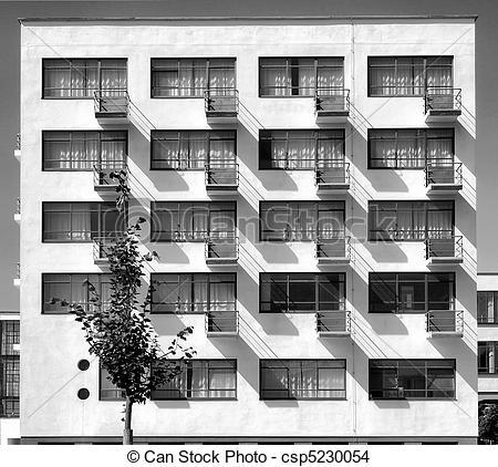 Stock Photo of Bauhaus, Dessau.