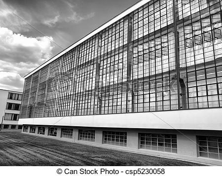 Pictures of Bauhaus, Dessau.