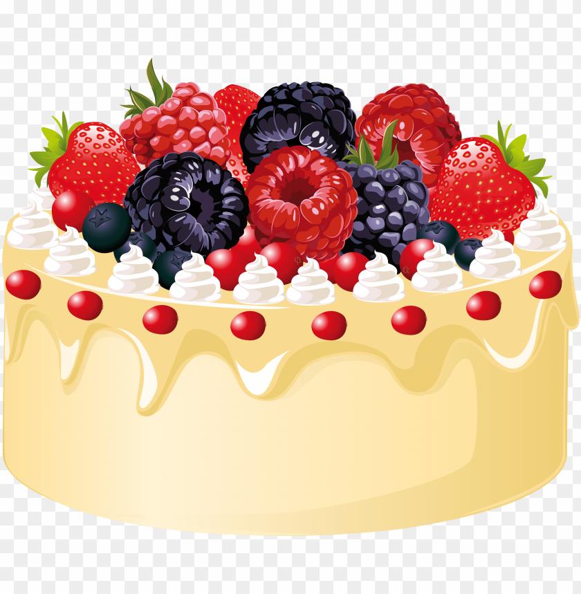 dessert clipart fruit cake.