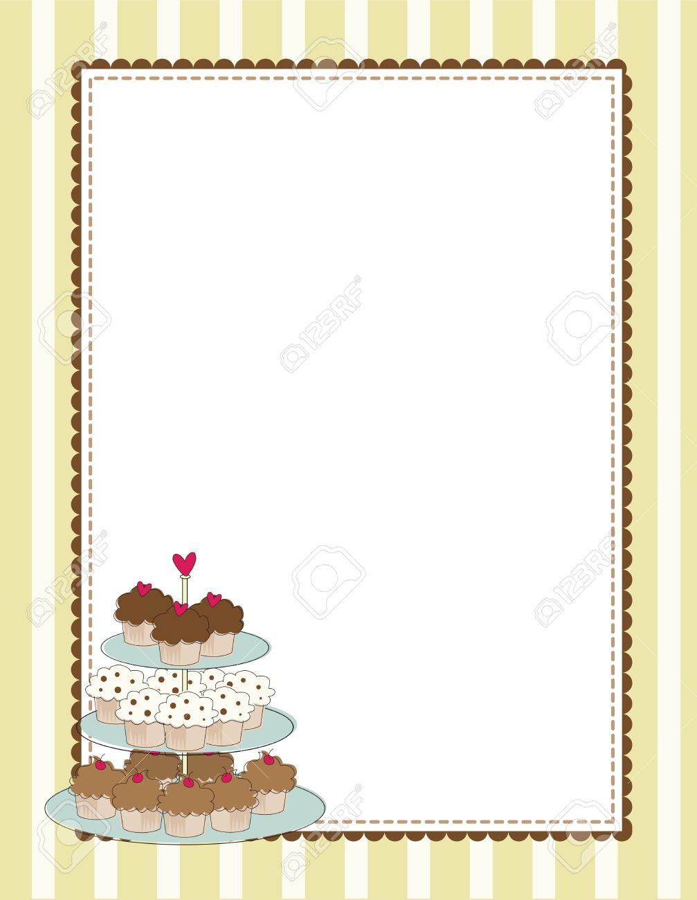 Free Border Clipart dessert, Download Free Clip Art on Owips.com.