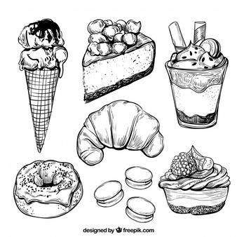 Dessert Vectors, Photos and PSD files.