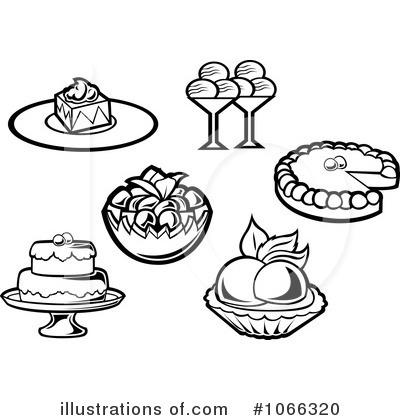 Desserts Clipart #1066320.