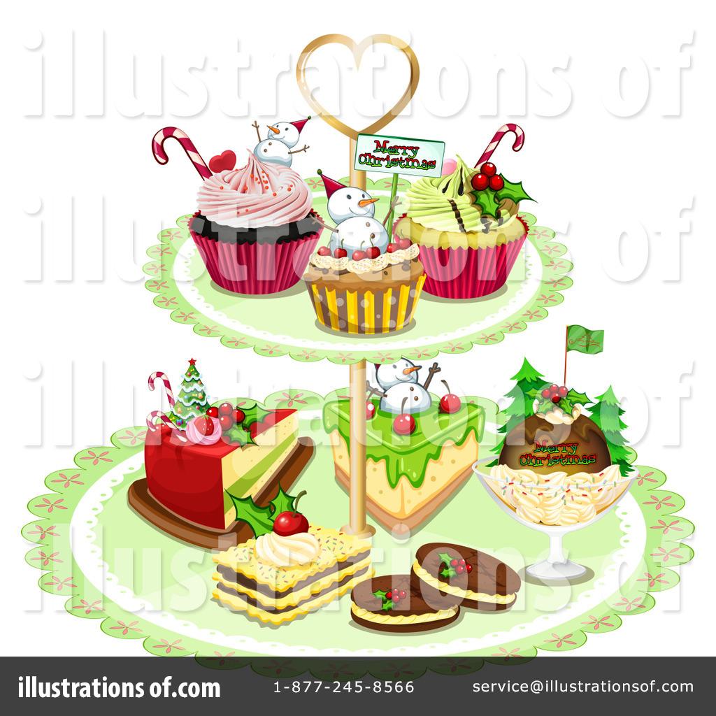 Christmas Dessert Clipart #1266394.