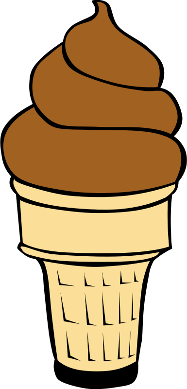 Free Clipart: Fast Food, Desserts, Ice Cream Cones, Soft Serve.