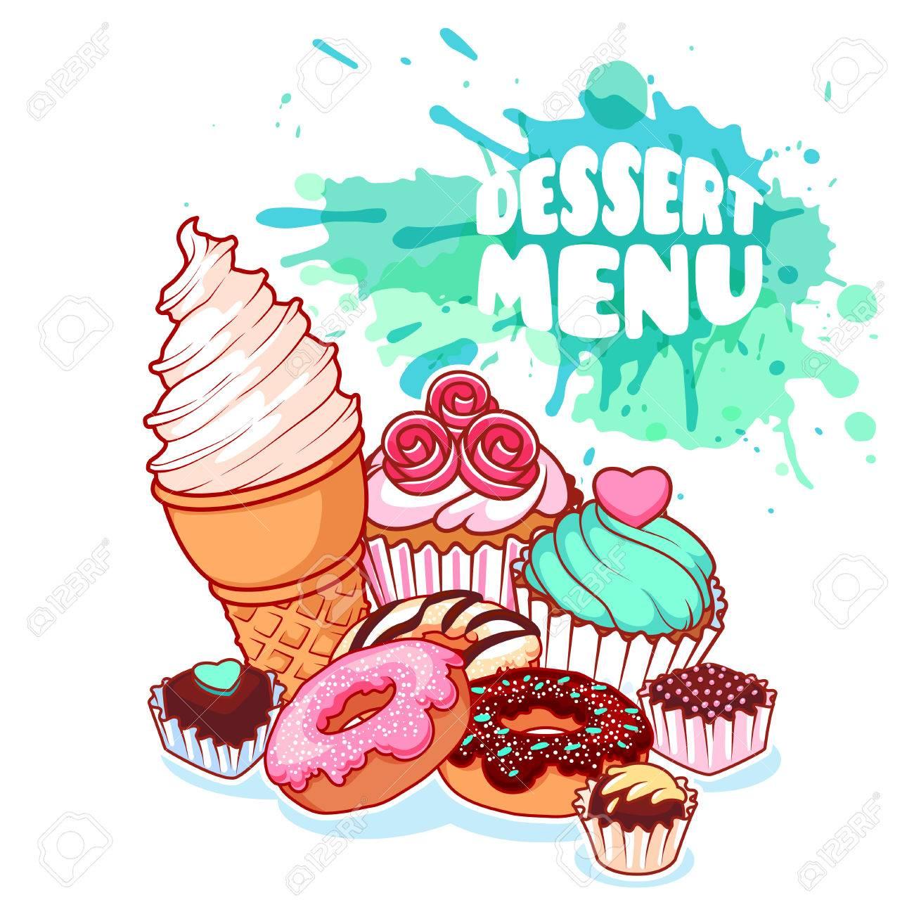 Dessert Cliparts.