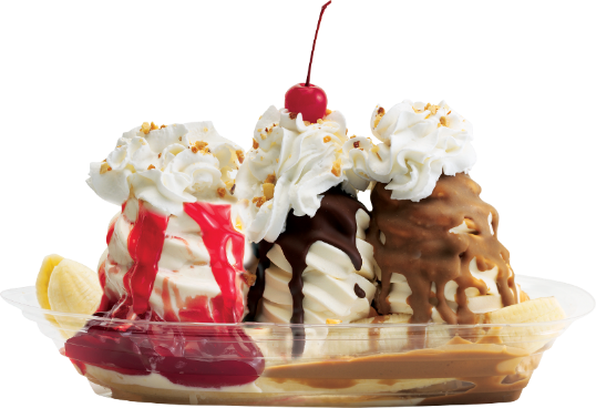 Ice Cream Desserts PNG Image With Transp #55366.