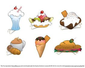 Free Dessert Cliparts in AI, SVG, EPS or PSD.