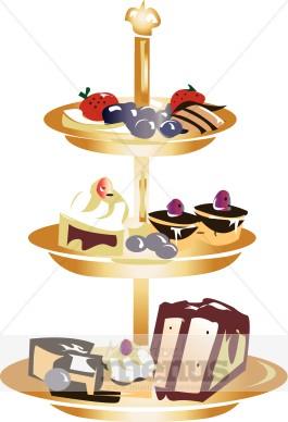 Clip Art Dessert Bars Clipart.