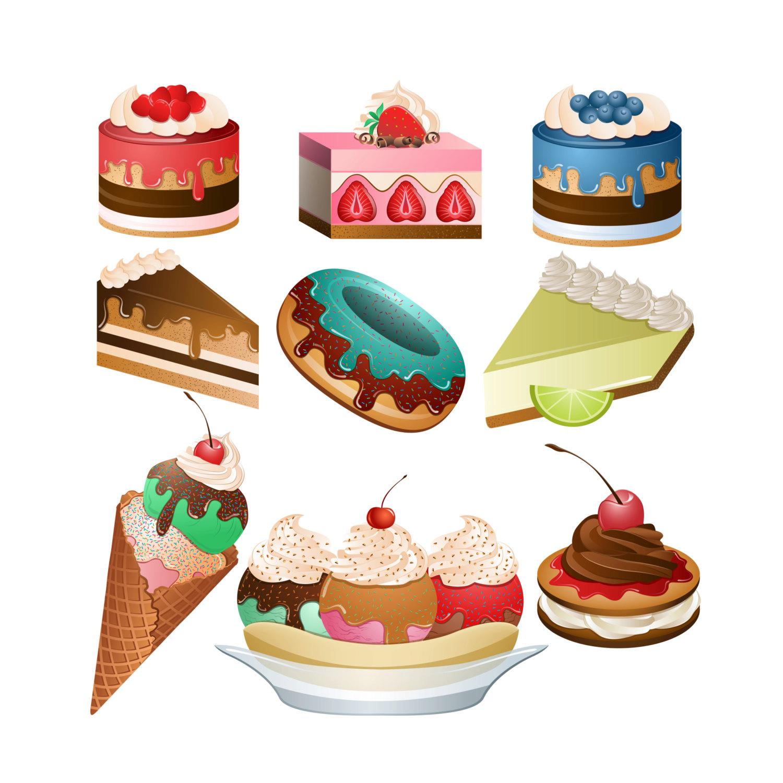 Free dessert clip art.