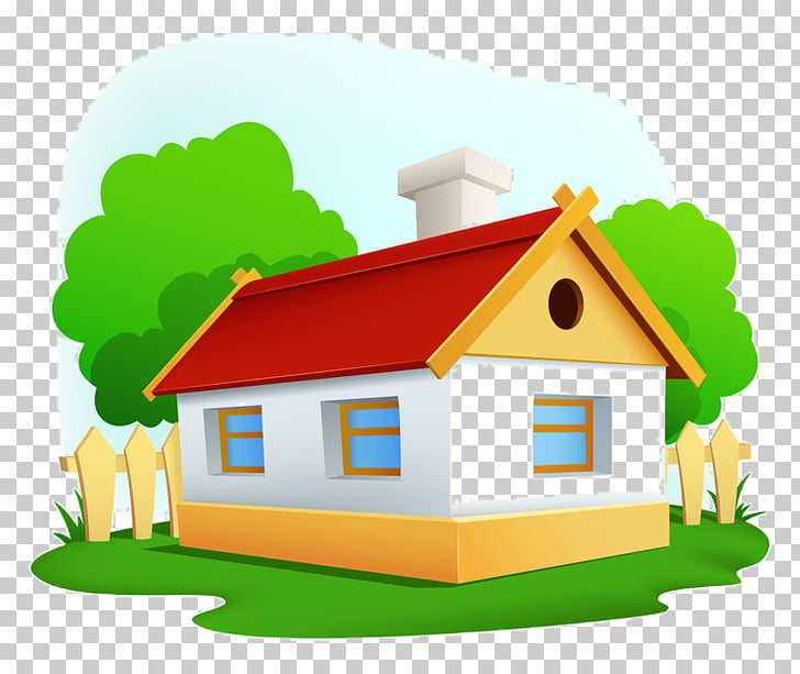Dessin animé House Drawing Room, house PNG clipart.