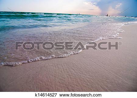 Picture of destin florida beach scenes k14614527.