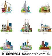 Travel destinations Clipart Illustrations. 44,713 travel.