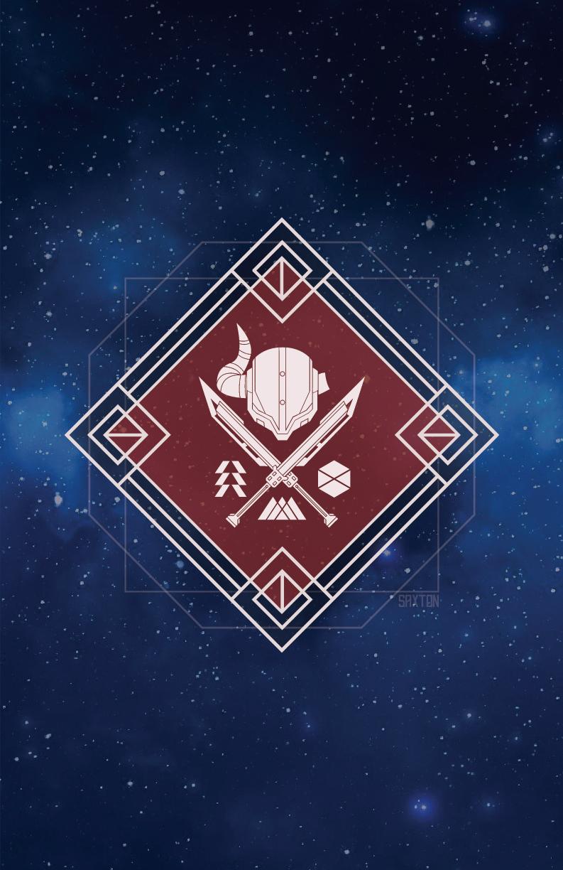 Destiny 2 Crucible Logo Poster [Shane Saxton] : destiny2.