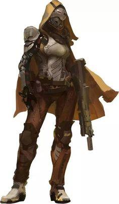 Destiny Hunter Clipart.