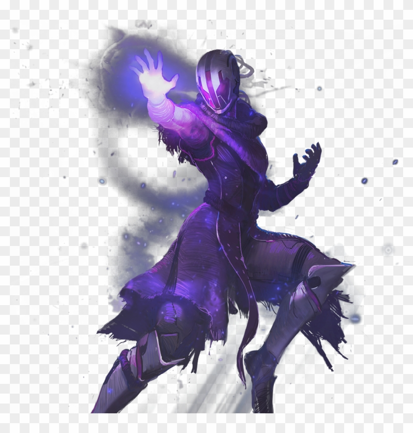 Destiny 2 Warlock Voidwalker, HD Png Download.