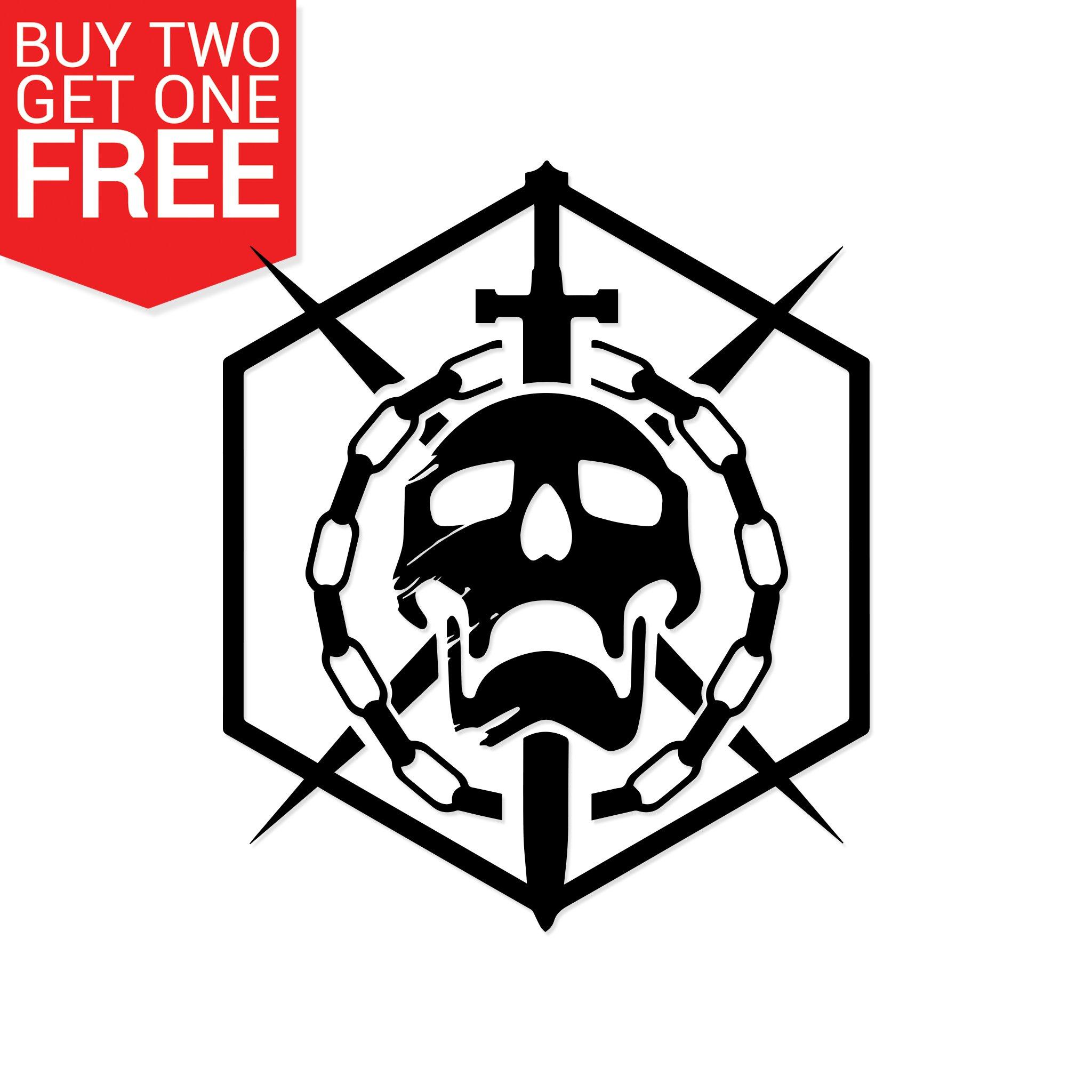 Destiny 2 Raid Emblem Vinyl Decal.