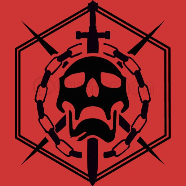 Destiny Raid Skull Emblem Youth T.
