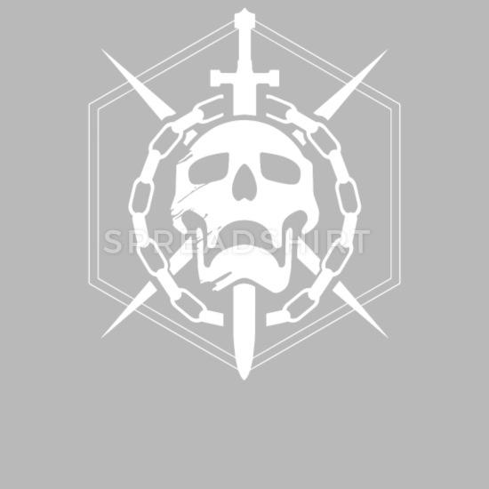 Destiny Raid Skull Emblem Travel Mug.