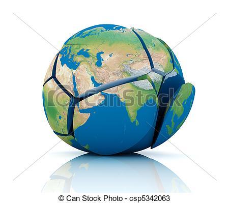 Drawings of Global Destruction.
