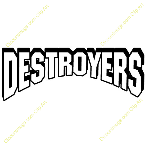 Destroyer clipart.