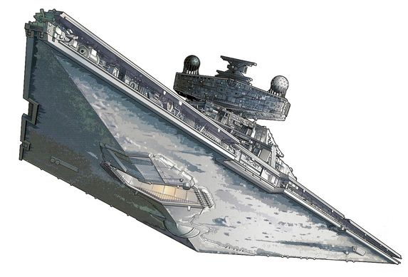 Imperial star destroyer clipart.