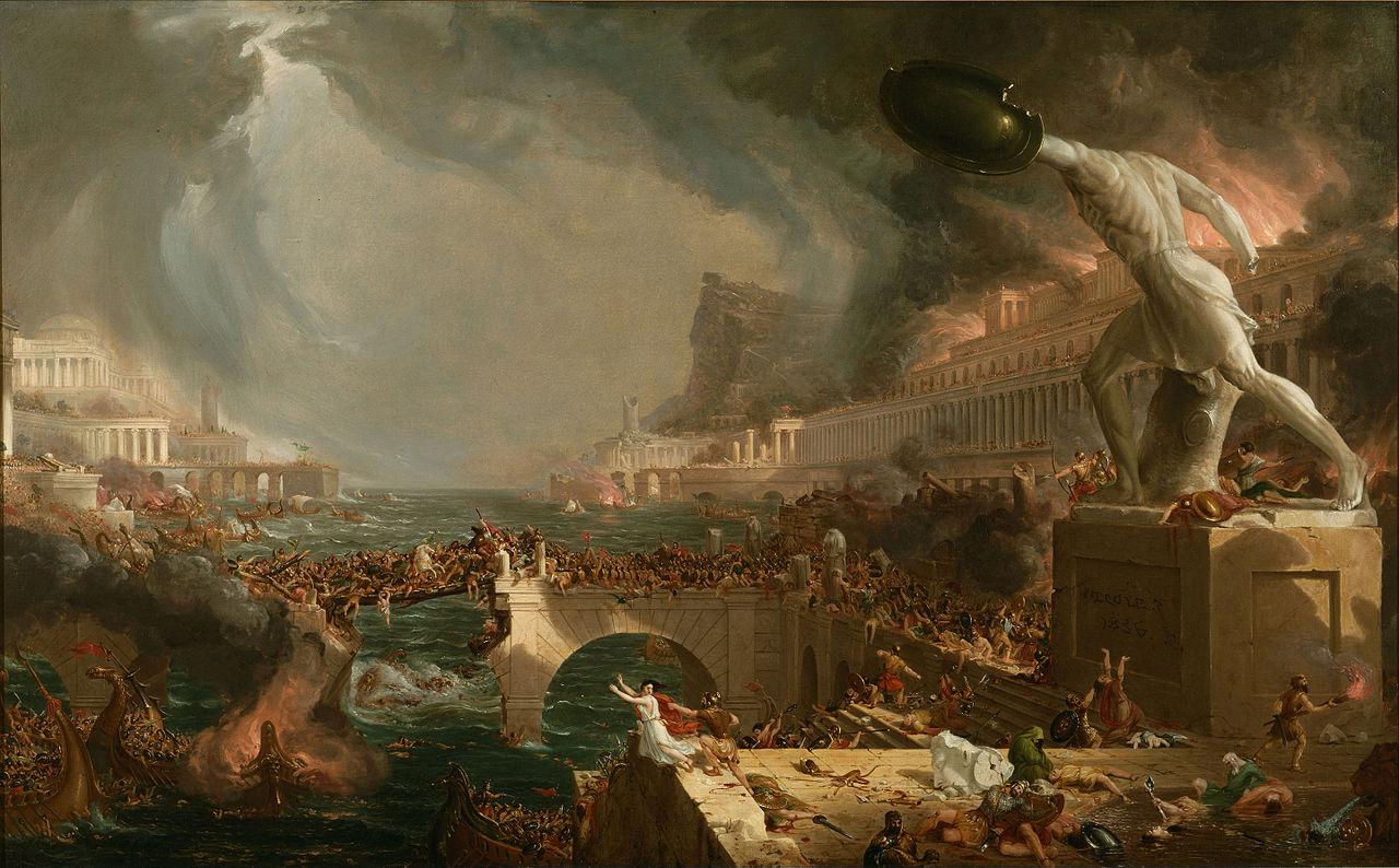 File:Cole Thomas The Course of Empire Destruction 1836.jpg.