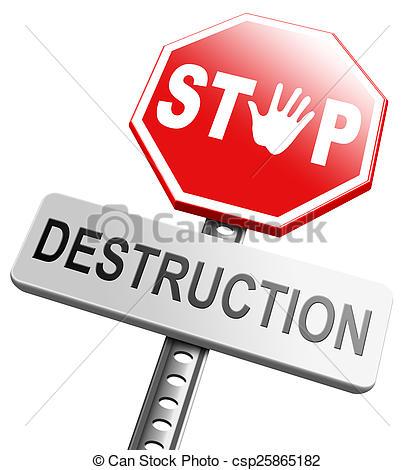 Destruction Clipart.