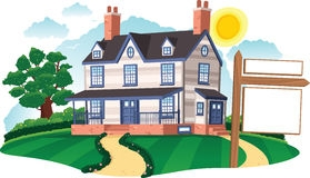 Detached house clipart - Clipground