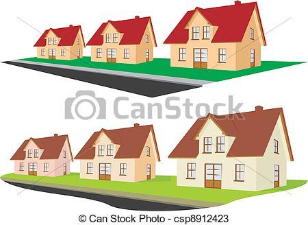 Vectors of real estate.