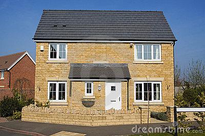Detached house clipart #7
