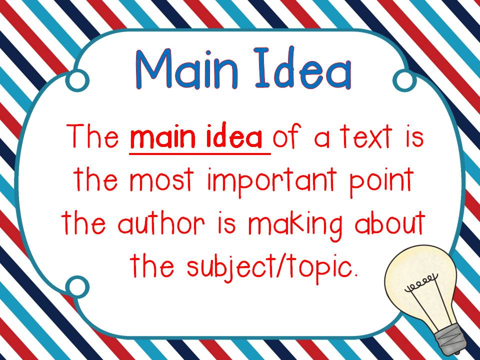 Short story map main ideas supporting detail clipart.