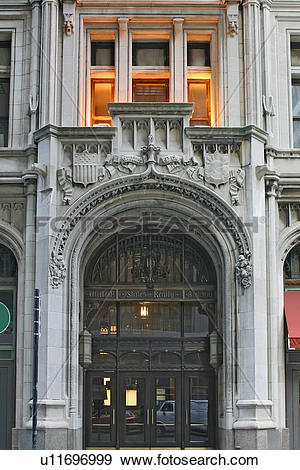 Stock Photograph of United States Realty Building on Broadway.