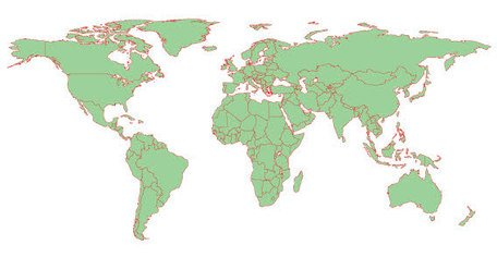 Detailed World Map Clipart Picture Free Download.