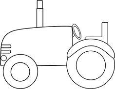 Silhouette Design Store: farm tractor.