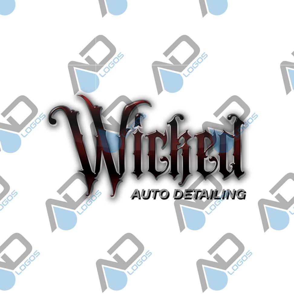 Wicked Auto Detailing Logo.