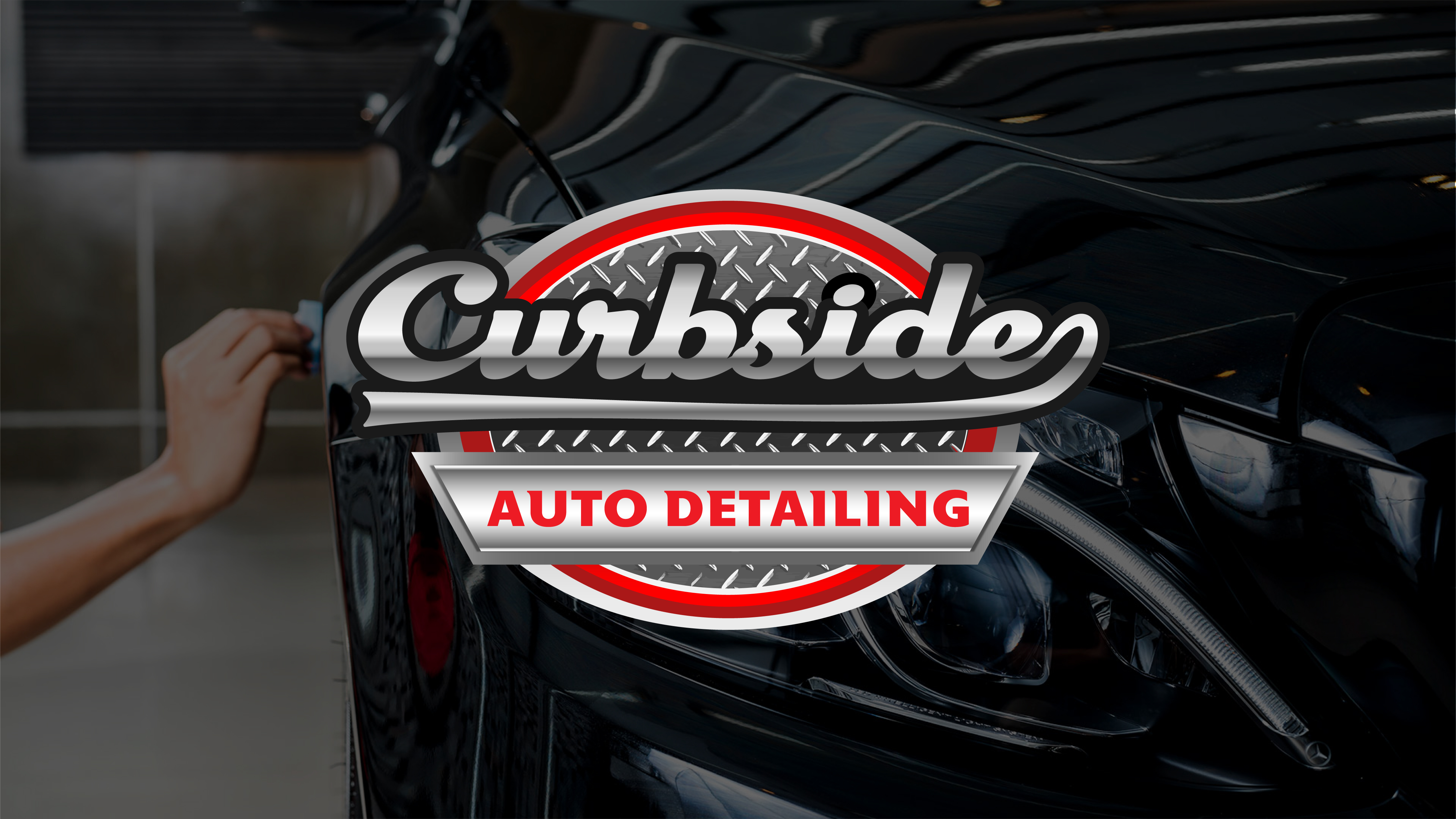 Curbside Auto Detailing logo.