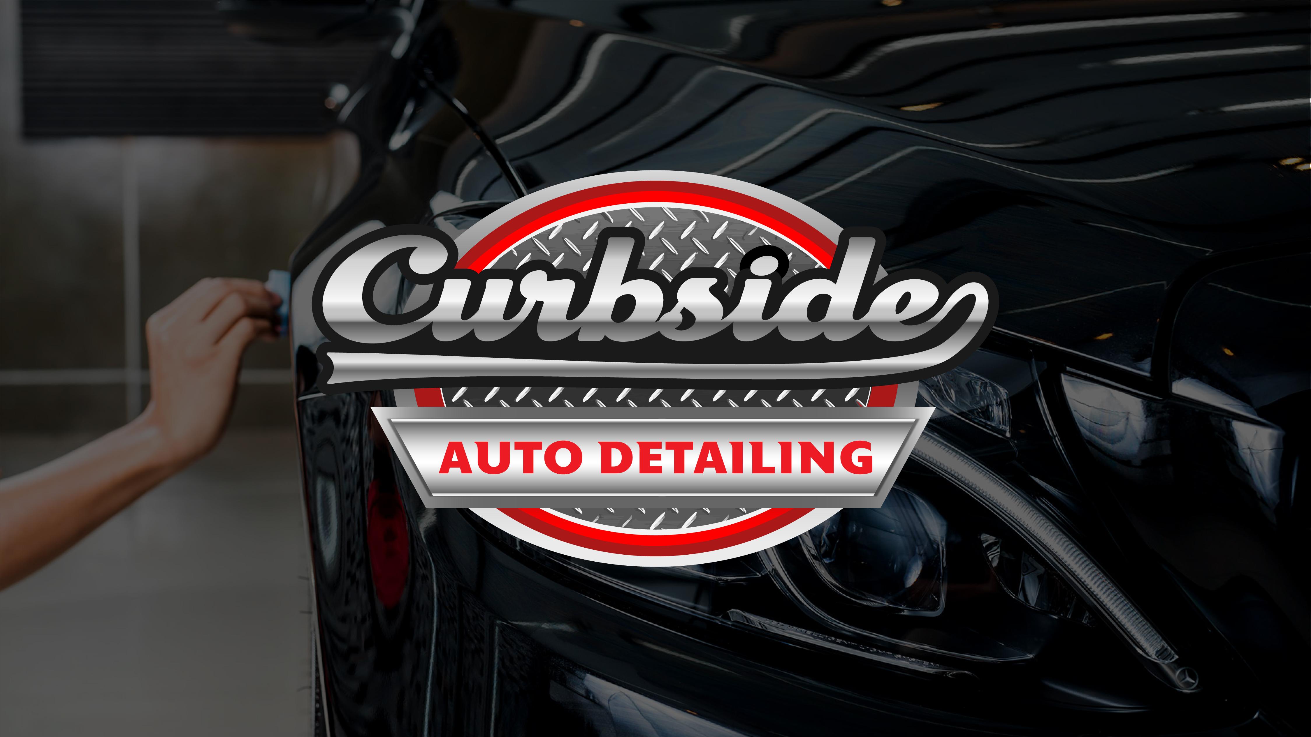 Curbside Auto Detailing logo.