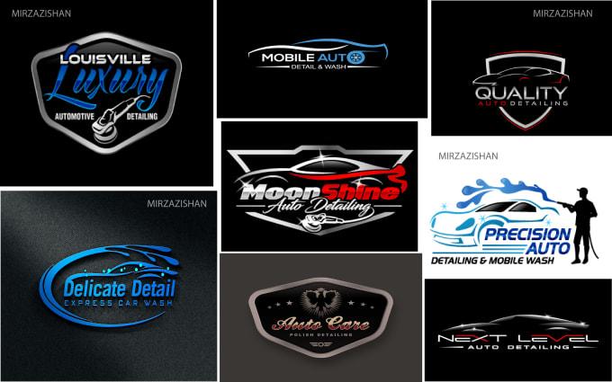 design auto detailing,automotive,racing,and car wash logo.