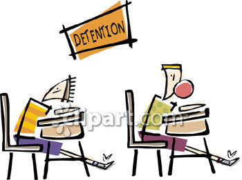 Detention 20clipart.