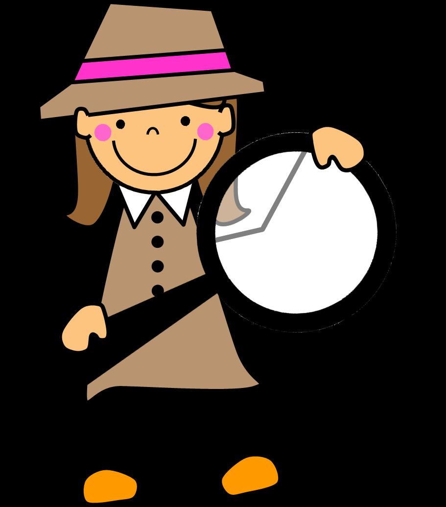 Clipart teacher detective, Clipart teacher detective.