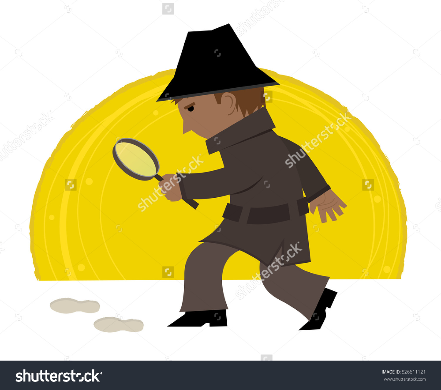 Detective Clipart Cartoon Clip Art Detective Stock Vector.