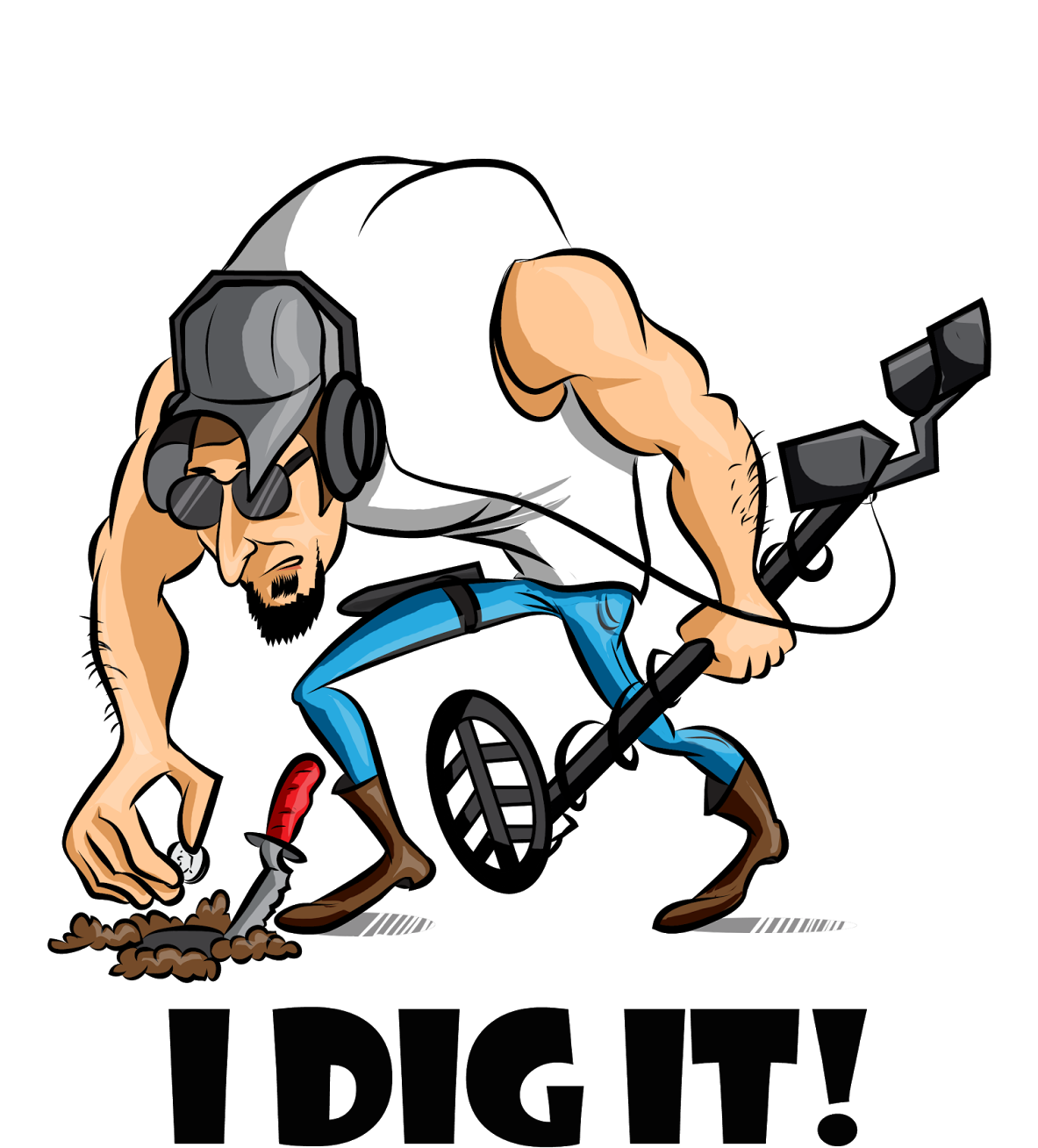 Metal Detecting Logo For T.