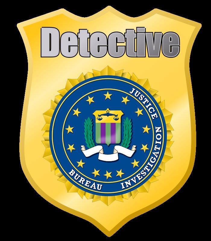 Download Free png Detective Badge.