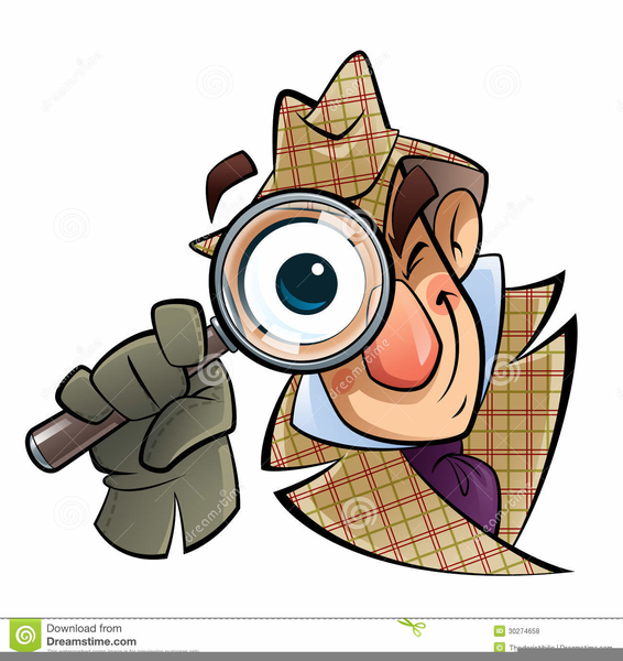 Free Printable Detective Clipart.