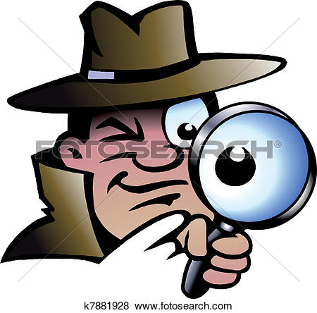 Detective Clipart Royalty Free. 10,256 detective clip art vector.